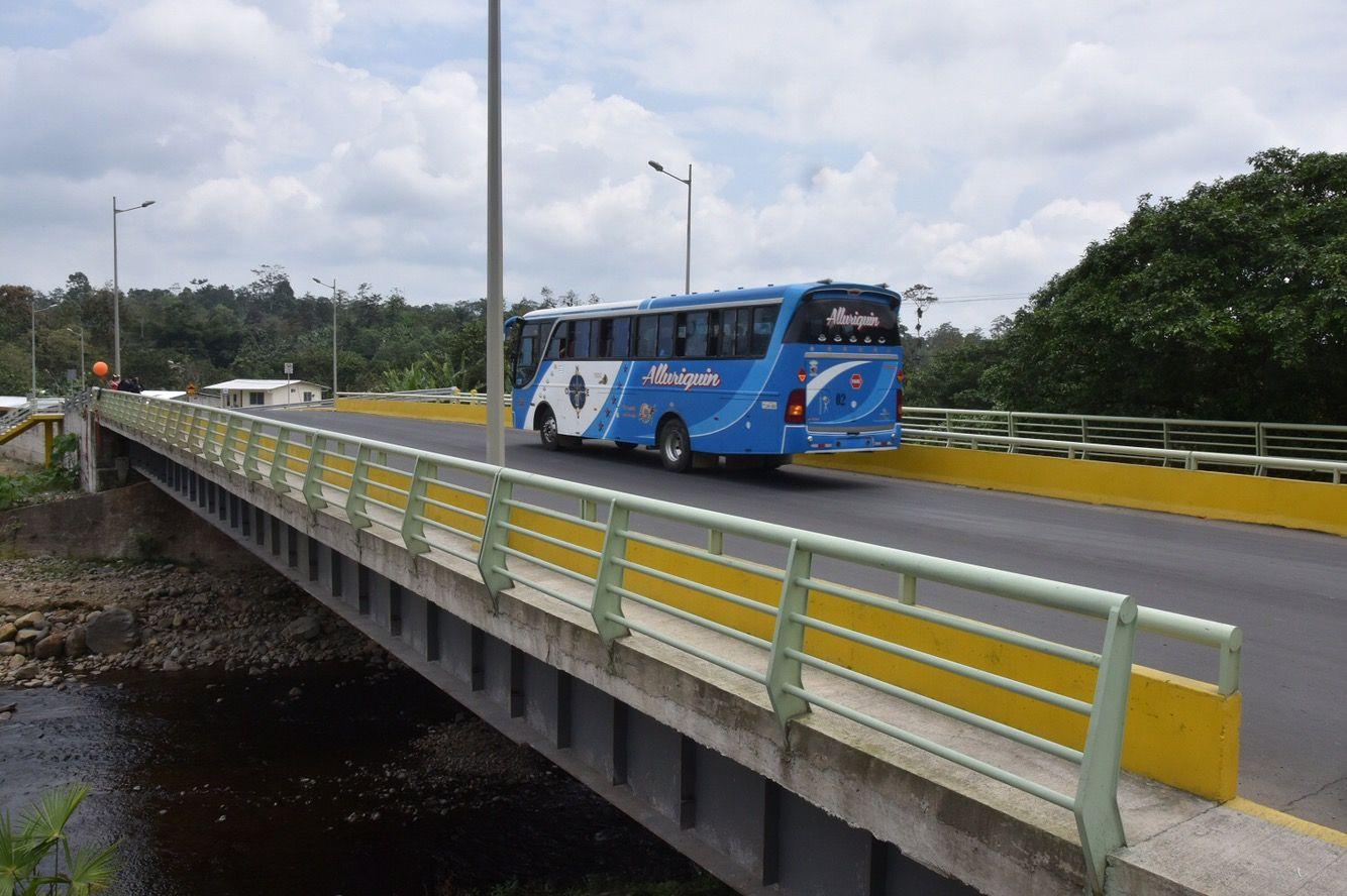 Photo of Inauguran puente sobre río Baba en San Gabriel