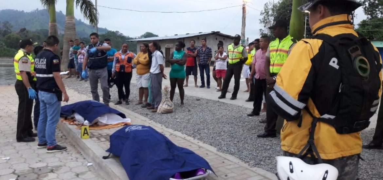 Photo of Cuerpos de los tres policías que cayeron al río Esmeraldas fueron encontrados