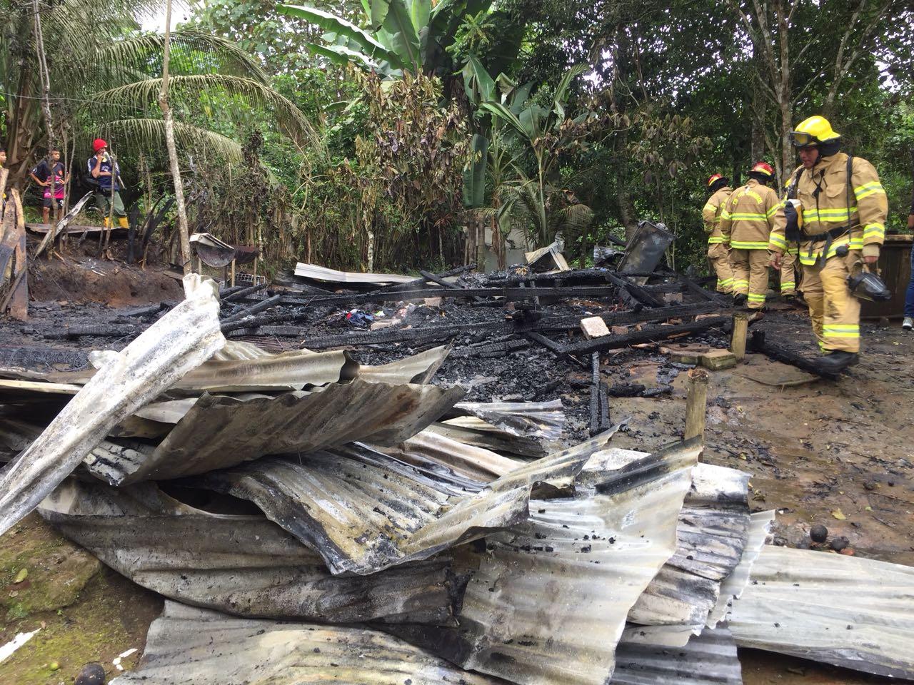 Photo of Incendio consumió casa en Nuevo Israel