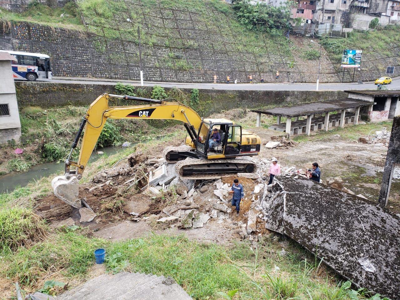 Photo of Empezó construcción de colectores en sector las lavanderías