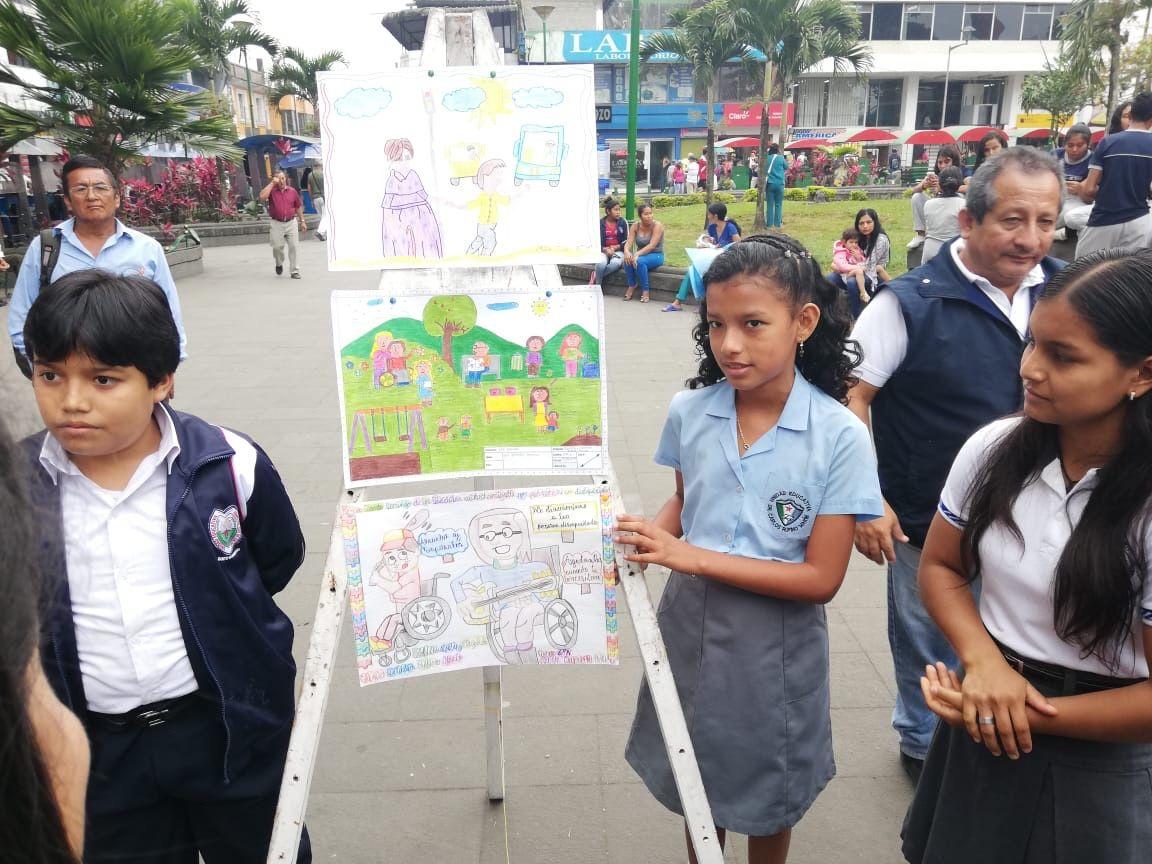 Photo of Niños pintaron por una ciudad inclusiva