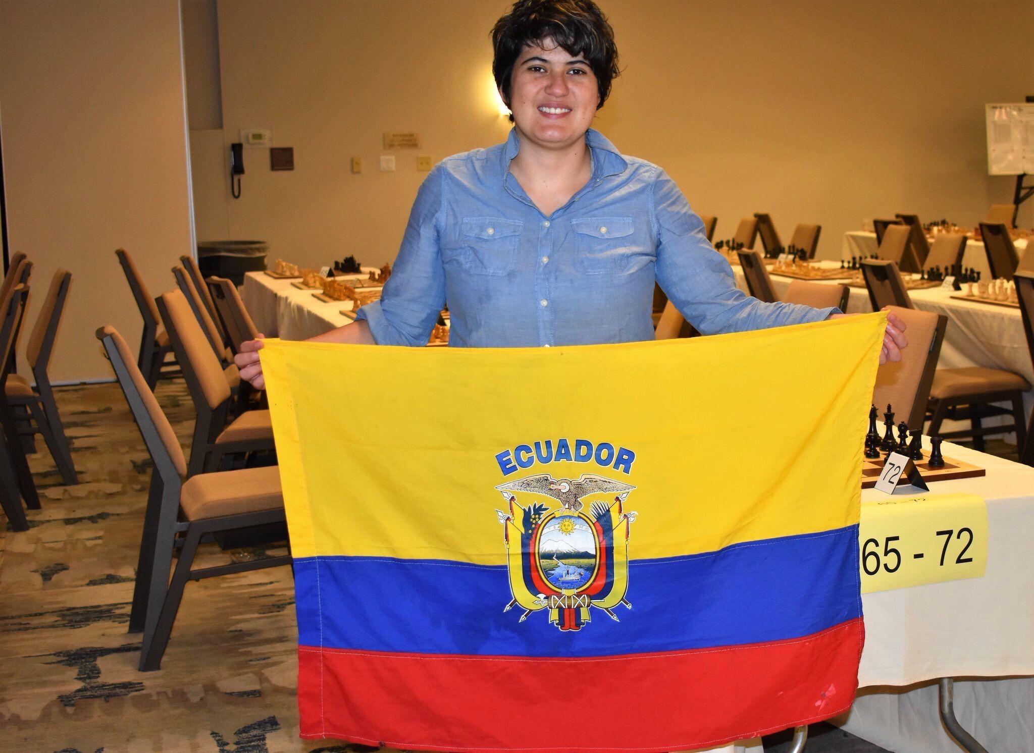 Photo of Carla Heredia vence a ajedrecistas de 5 países en EE.UU.