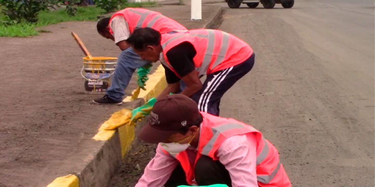 Photo of Personas en pre libertad ya limpian las calles de Santo Domingo