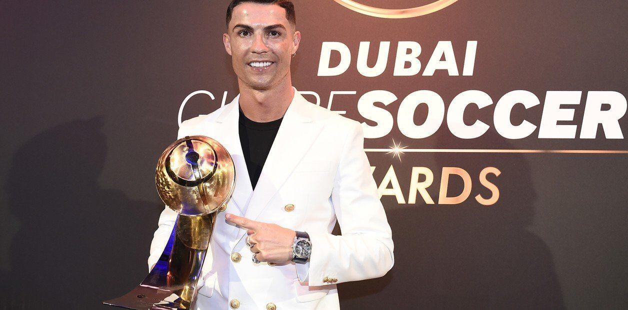 Photo of Cristiano Ronaldo es el mejor jugador del año, según Globe Soccer