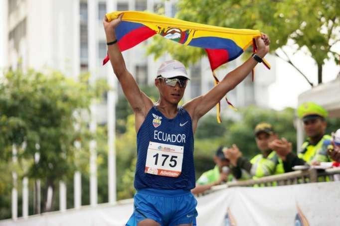 Photo of Deportistas ecuatorianos entrenan en casa para Tokio 2021