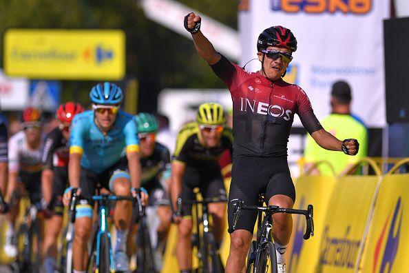 Photo of Richard Carapaz ganó la tercera etapa de la vuelta a Polonia