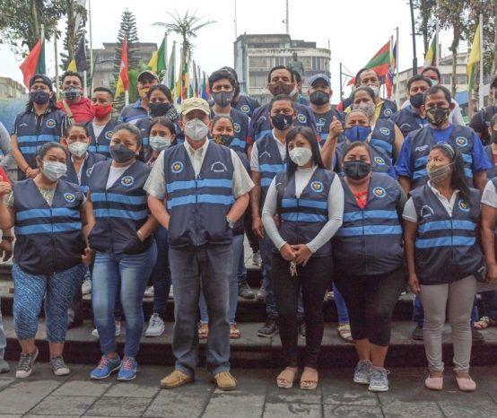 Comerciantes conforman brigada de seguridad