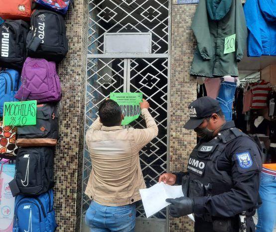 Dos hoteles clausurados en Santo Domingo