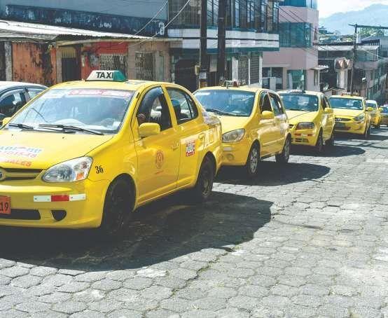 No hay cupo para más taxis en Santo Domingo