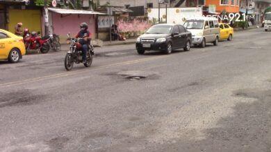 Photo of La av. Jacinto Cortéz Haya tiene deterioros que ocasionan accidentes