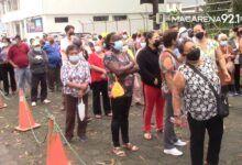 Photo of Hubo aglomeración de personas en dos puntos de vacunación